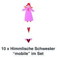 Himmlische Schwestern Mobile Charlotte 10er Set