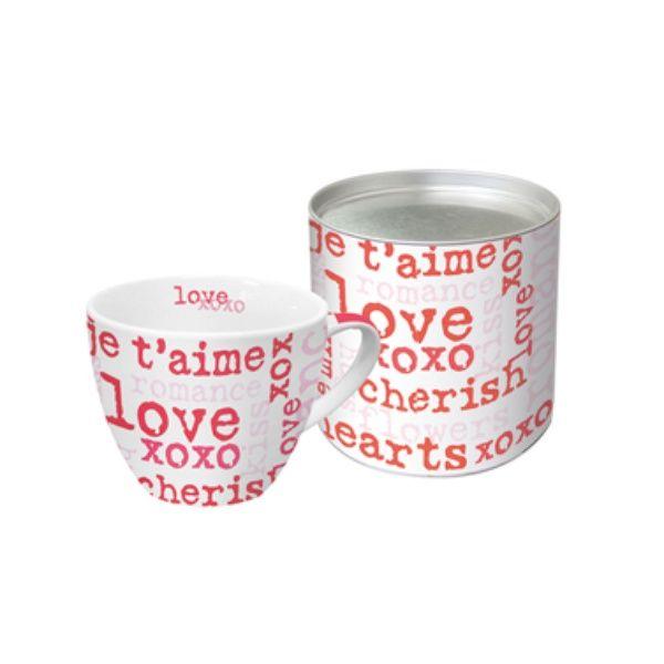 "Kaffee-Pott ""LOVE GRAPHIC"""