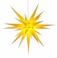 Weihnachtsstern für Innen, Gelb 80 cm