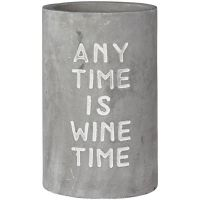 """Vino Beton Weinkühler """"Any Time is Wine Time"""""""
