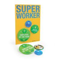 "Superbutton ""Super Worker"""