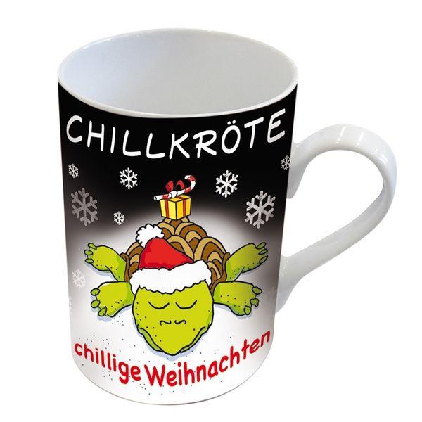 """Henkelbecher """"Chillige Weihnachten"""""""