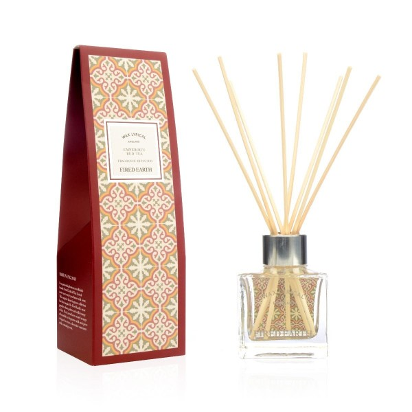 FIRED EARTH Collection - Reed Diffuser Des Kaisers roter Tee - 100 ml