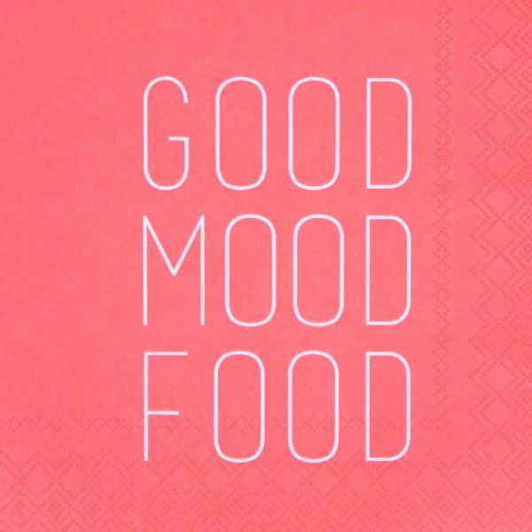 """Servietten """"Good moodfood"""""""
