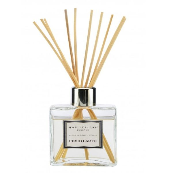 FIRED EARTH Collection - Reed Diffuser Darjeeling & Damask Rose 200ml